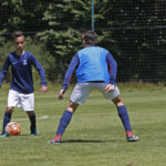 LA PSG ACADEMY A CLAIREFONTAINE