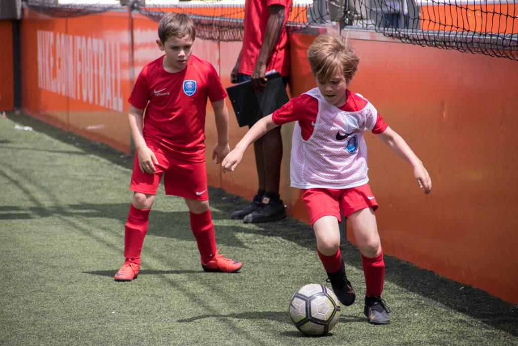 Stagiaires match de foot