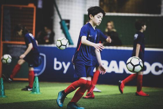 joueur de foot enfant psg